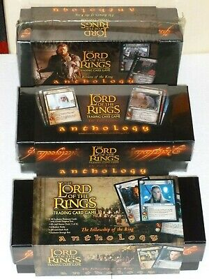 LORD of the RINGS - Set of 3 - ANTHOLOGY FotR TWO TOWERS RotK ELVISH Reflections