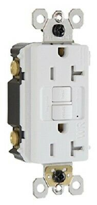 Pass & Seymour 20A 125V White, Self Testing Tamper Weather Proof GFCI Receptacle