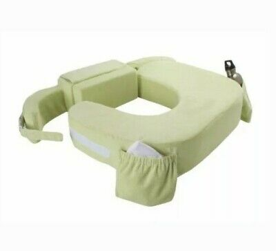 New Twin Plus Nursing Baby Breast Milk Feeding Pillow Slipcover Cushion, Green
