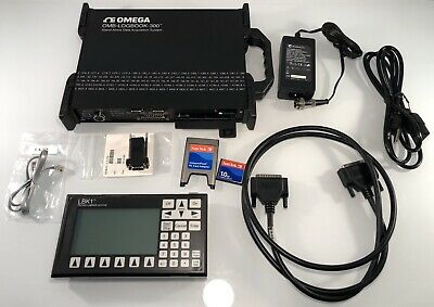 OMEGA OMB-LOGBOOK-300 Stand-Alone Intelligent PC-Based Data Acquisition System