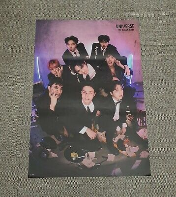 PENTAGON 1st Album [UNIVERSE : THE BLACK HALL] DOWNSIDE Ver OFFCIAL POSTER -NEW-