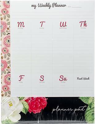 Webster's Pages MHP Weekly Planner Tear-Away Pad (PP43), Item RB-19