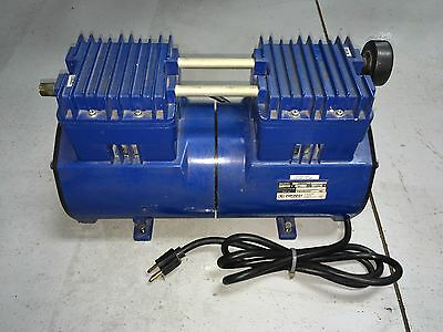 Thomas 2807CE72 WOB-L Twin Piston Oil-less Compressor