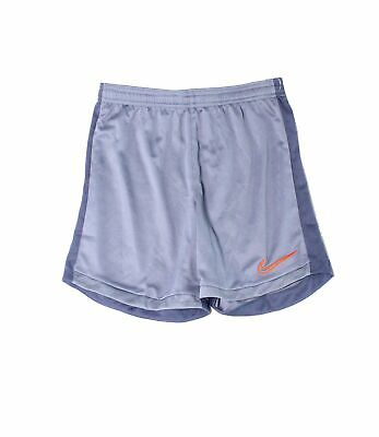 Nike Boys Shorts Blue Size Small S Drawstring Pull-On Logo Embroidered $30- 003