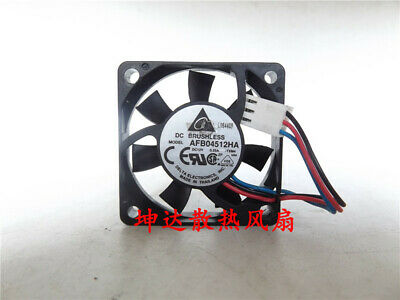 1pcs  Delta AFB04512HA 4510 12V 0.25A ball bearing cooling fan