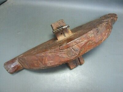 Wooden coopers croze plane barrel makers vintage old tool