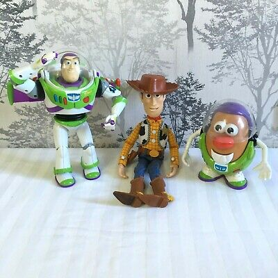DISNEY TOY STORY Woody Buzz Lightyear Potato Head Talking Interactive THINKWAY