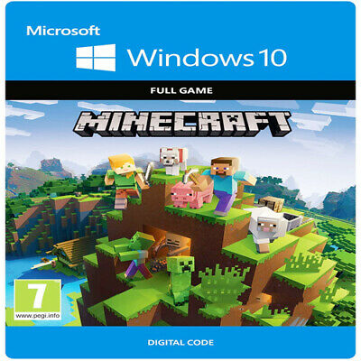 Minecraft Windows 10 Edition ~ PC Download Key ~ GLOBAL ~ Instant Delivery🔥🔥