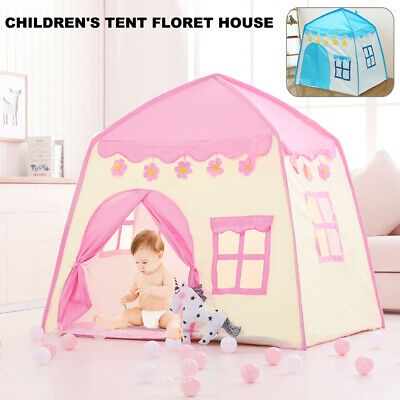Baby Girls Boys Pop Up Play Tent Portable Tents Outdoor Indoor Playhouse Games