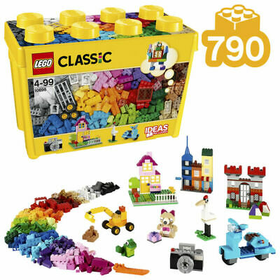 LEGO Classic Large Creative Brick Box (10698), suitable for 4+ age group