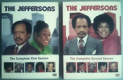 THE JEFFERSONS  (  Complete  First  &  Second  Seasons  ) 1970's American TV DVD