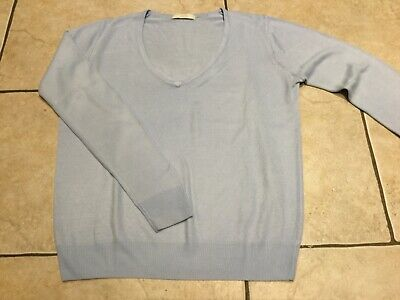 Marks & Spencer Pale Blue Sweater, Size 10
