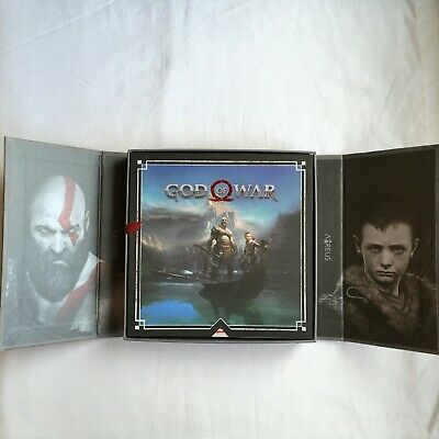 """God of War PS4 Press Kit Promo Collector """"UNCOMPLETE"""" RARE"""