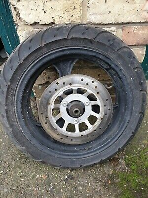 Sinnis shuttle 125 Front Wheel Tyre And Disc