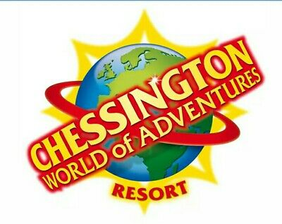 2 Chessington Tickets - Booking Form and 10 Sun Tokens - QUICK RESPONSE