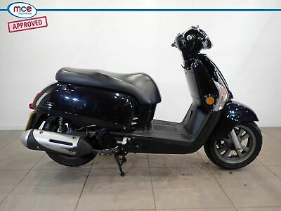 Kymco Like 125 Black 2015 Spare or Repair Restoration Project Donor Bike Damaged