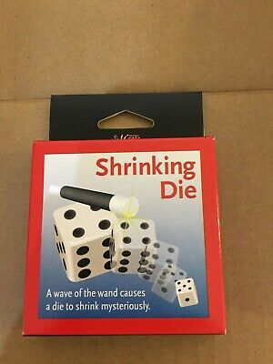 Shrinking Dice Magic - New - Unopened Boxes - 27 Packages