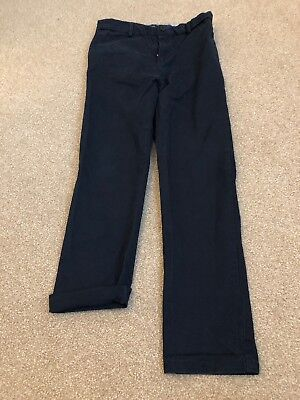 Boys River Island Navy Chinos Age 12 Yrs
