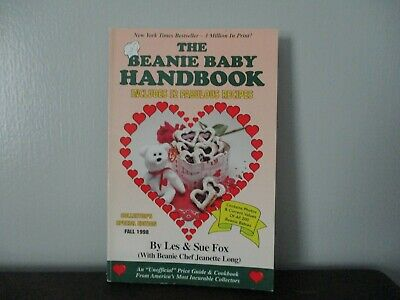 Rare & Collectible - Signed Fall 1998 The Beanie Baby Handbook By Les & Sue Fox