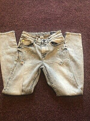 Next Boys Distressed Jeans Age 12 Years