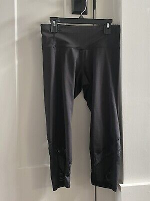 Girls (kids) Old Navy black crop leggings size XL (14) in great condition