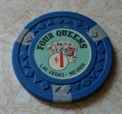 Obsolete, Early Four Queens Hotel, Las Vegas $1.00 Casino Chip