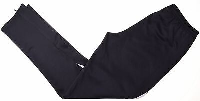 ADIDAS Girls Tracksuit Trousers 15-16 Years XL Black Polyester  S209