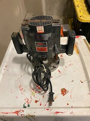Skil Classic 1845 02 Variable Speed Plunge Router 2 Hp With Collet Quickchange 19 00 Picclick