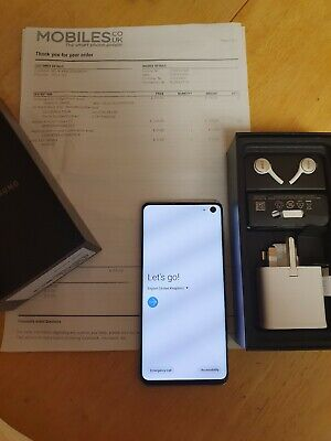 Samsung Galaxy S10 SM-G973F - 128GB - Prism Green (Unlocked)