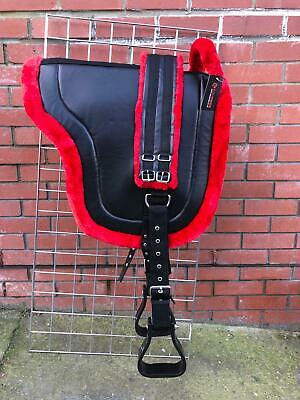 Norton Horse Riding Genuine Synthetic Vibration Absorbing Soft Gel Pad Carry Bag