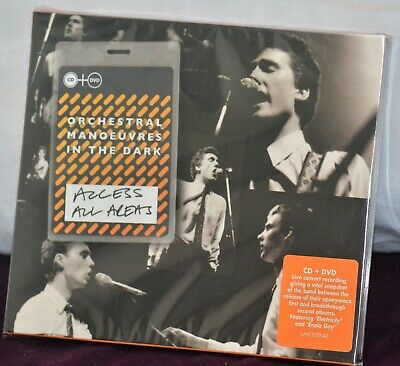 OMD - Orchestral Manoeuvres In The Dark LIVE CD/DVD Access All Areas 1980 Show