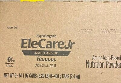 EleCare JR BANANA 6 Cans-1 Case Formula junior Sept 2021