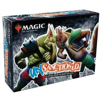 MAGIC the Gathering mTG Unsanctioned Box Set NEW Sealed Pre sale 3/1/2020