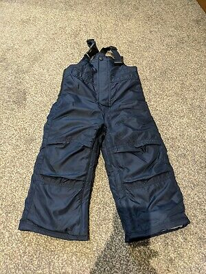 Boys Navy Blue Age 2 Snow Trousers From Gap