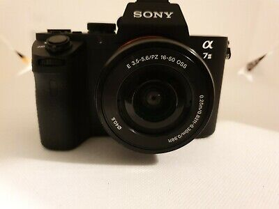 Sony Alpha A7 II. 35mm Full Frame Image Sensor. 3.5-5.6/16-50 lens. SPARES ONLY!