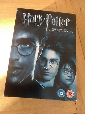 Harry Potter The Complete 8-Film Collection DVD