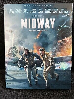 MIDWAY (Blu-ray, DVD, Digital) Brand New