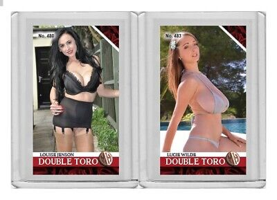 Lucie Wilde rare MH Double Toro #'d 3/3 Tobacco card no. 483