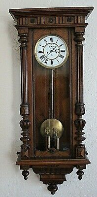 Gustav Becker Antique Vienna Chiming  seven day clock