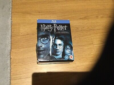 Harry Potter Complete 8 Movie Blu-Ray Box Set.