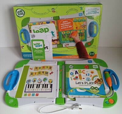 Leapfrog Leapstart Interactive Learning System + 1 Book Pre Scool 3-5 years