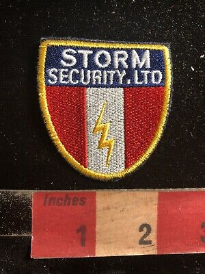 Police / Security Related Patch STORM SECURITY LTD. 90RA