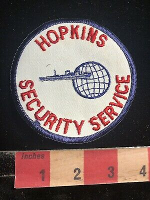 Police / Security Related Patch HOPKINS SECURITY SERVICE 90RA