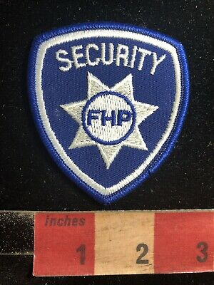 Police / Security Related Patch FHP SECURITY 90RA