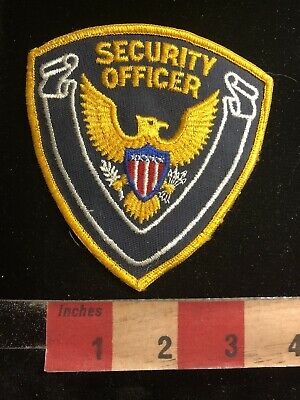 Police / Security Related Patch SECURITY OFFICER VERSION 3 90RA