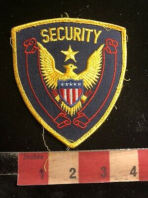 Police / Security Related Patch SECURITY Officer (version 2) 90RA