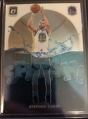 2019-20 Panini Donruss Optic Basketball Splash! #4 Stephen Curry Warriors