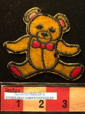 Bear Patch ~ RED BOW TIE