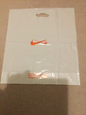 Nike Medium Plastic Carrier Bag  46cmx50cm Used From Shop To Home