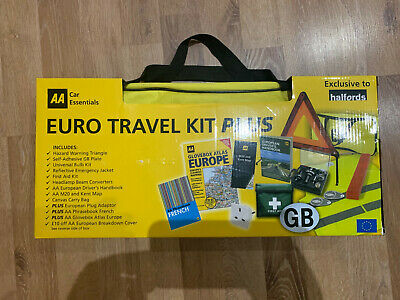 AA Euro Travel Kit PLUS Bag, NEW (see below)